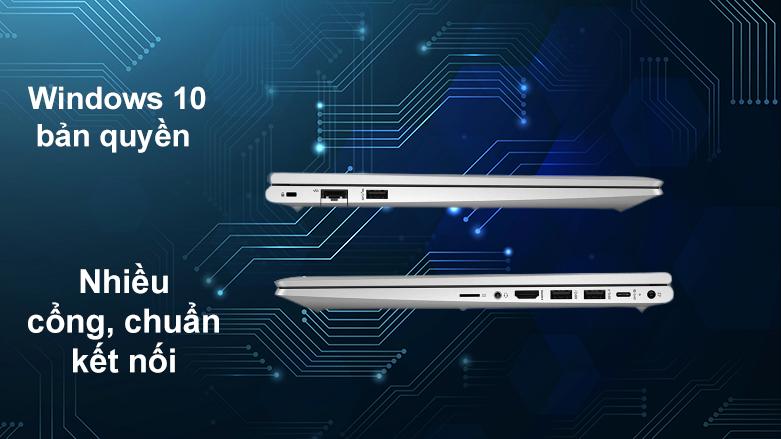 Laptop HP ProBook 450 G8-2H0W1PA | Cài đặt sẵn Windows 10, nhiều cổng, chuẩn kết nối hiện đại