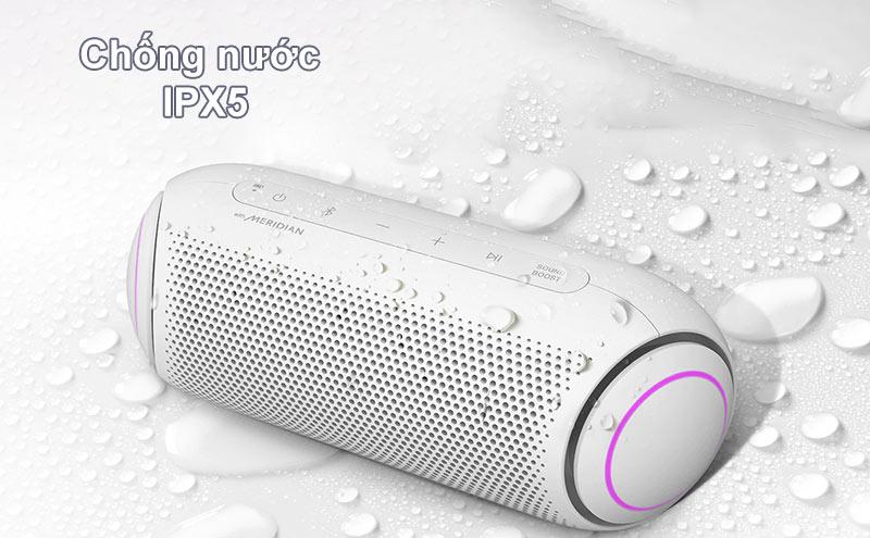 Loa Bluetooth LG PL7W (Trắng) | Chống nước IPX5