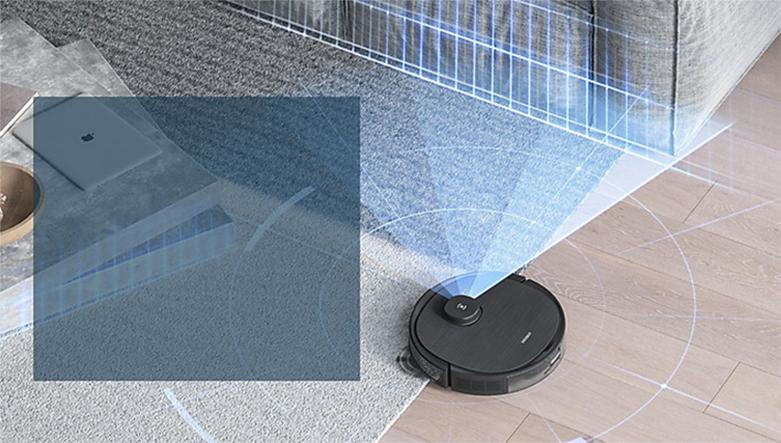 Máy hút bụi lau nhà Ecovacs Deebot OZMO T8 AIVI | Công nghệ TrueMapping hiện đại