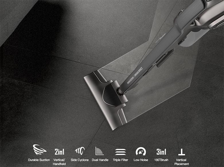 Công nghệ lốc xoáy Pro Cyclone, Rocket Vacuum   Lọc không khí Hepa