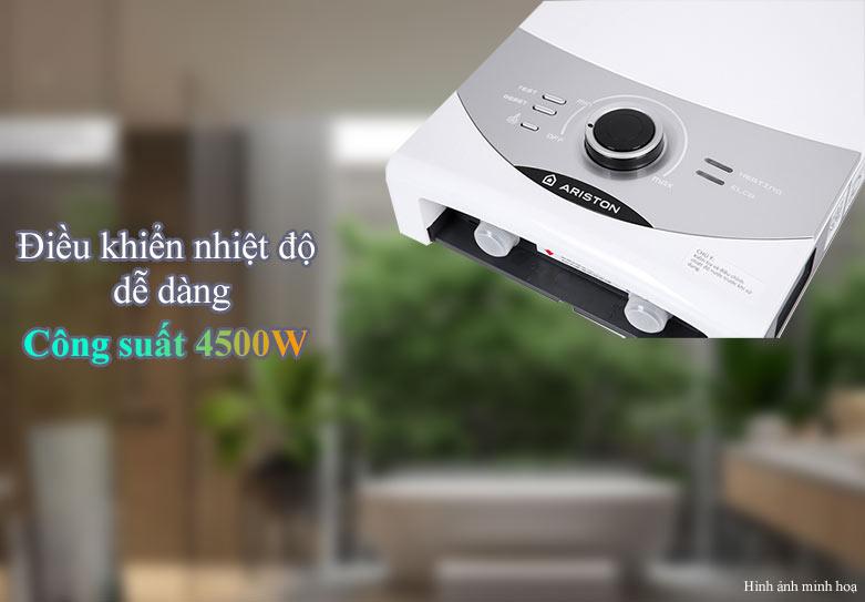 Máy nước nóng Ariston SM45PE-VN | Công suất 4500W | Điều khiển dễ dàng