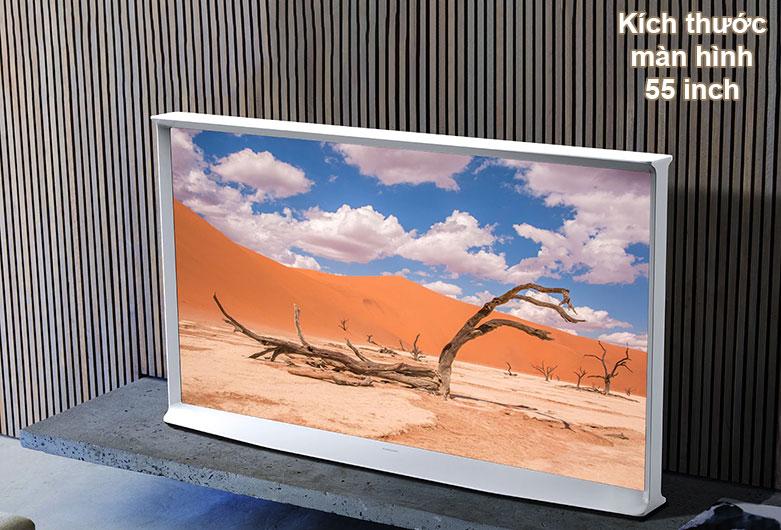 Tivi Qled The Frame Samsung 4K 55 inch QA55LS01T | Kích thước màn hình 55 inch