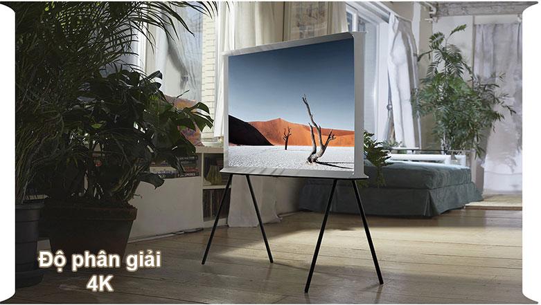 Tivi Qled The Frame Samsung 4K 55 inch QA55LS01T | Độ phân giải 4K