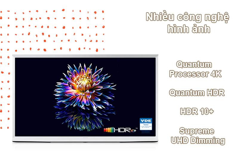 Tivi Qled The Frame Samsung 4K 55 inch QA55LS01T | Nhiều công nghệ hình ảnh