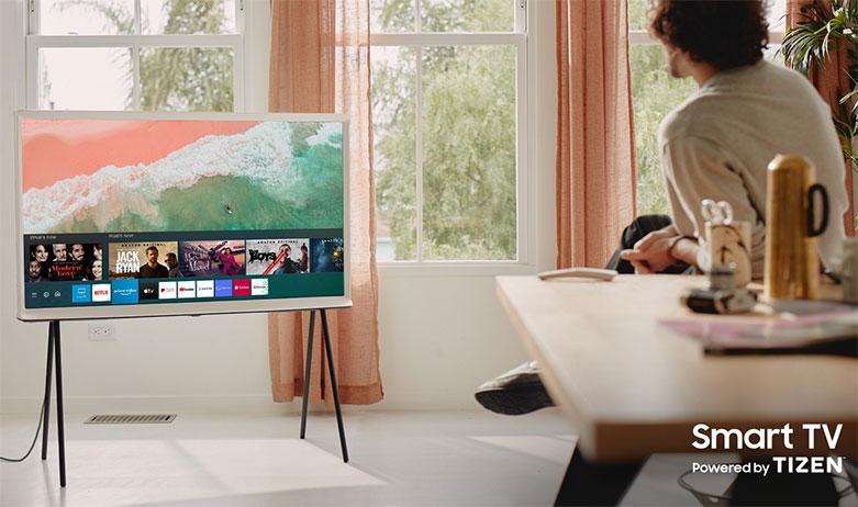 Tivi Qled The Frame Samsung 4K 55 inch QA55LS01T | Hệ điều hành Tizen OS