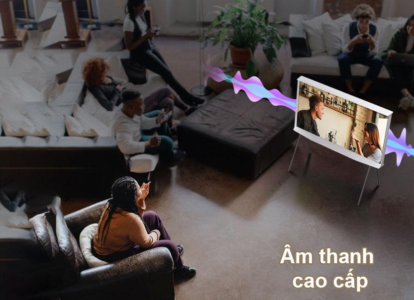Tivi Qled The Frame Samsung 4K 55 inch QA55LS01T | Âm thanh cao cấp