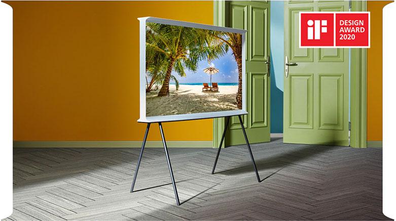Tivi Qled The Frame Samsung 4K 55 inch QA55LS01T | Thiêt kế đột phá