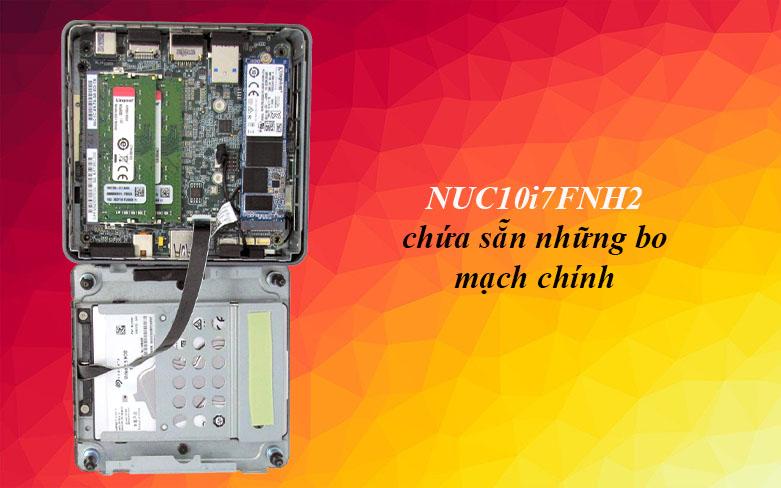PC Intel NUC 10 Kit - NUC10i7FNH2 | Trang bị chứa những bo mạch chính