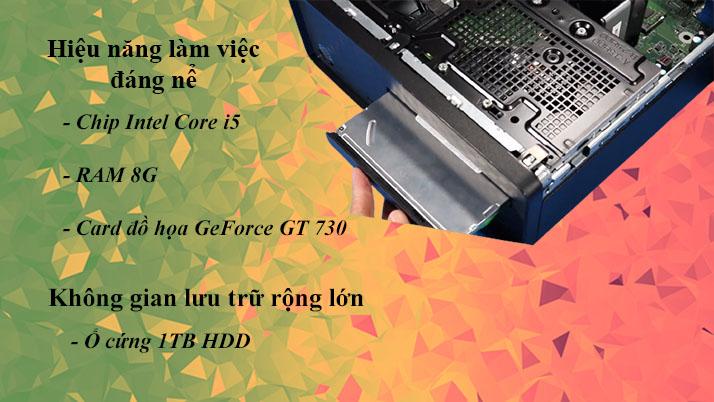 Máy tính để bàn HP S01-pF1146d | Hiệu năng làm việc ổn định