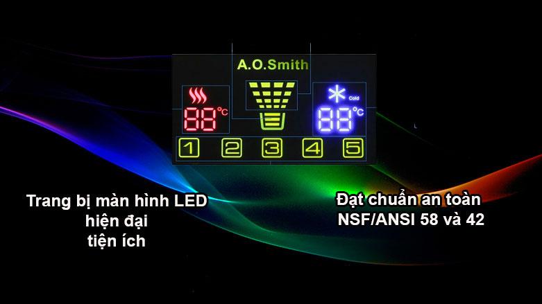 Máy lọc nước AOSmith ADR75-V-ET-1 | Trang bị màn hình LED hiện đại, tiện ích