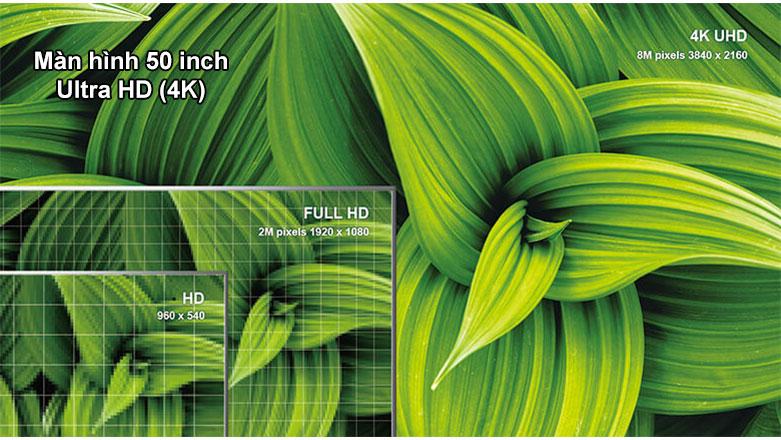 Android QLED Tivi TCL 4K 50 inch 50C715   Màn hình 50 inch