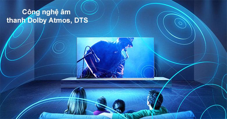 Android QLED Tivi TCL 4K 50 inch 50C715   Công nghệ âm thanh Dolby Atmos, DTS