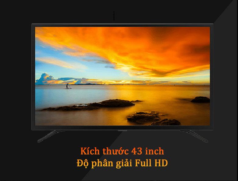 Android Tivi Casper 43 inch 43FG5200 | Màn hình kích thước 43 inch, Độ phân giải Full HD