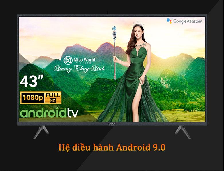 Android Tivi Casper 43 inch 43FG5200 | Hệ điều hành Android 9.0