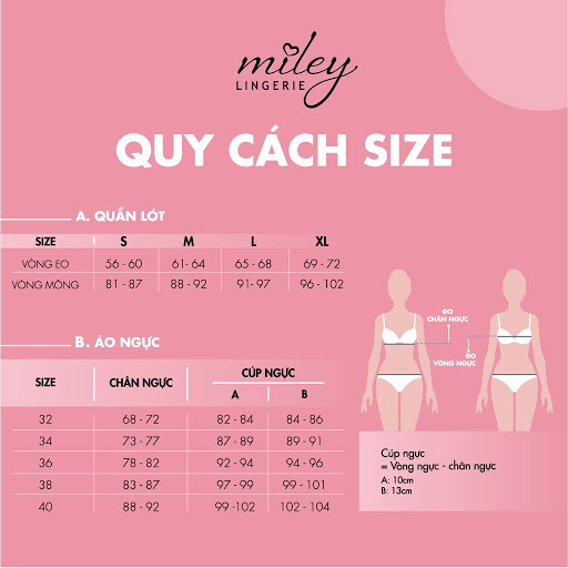Cách chọn Size Miley