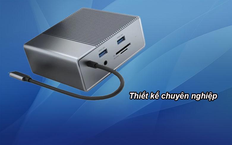Hub USB-C Gen 2 12 in 1 Hyper Drive HD-G212 | Thiết kế chuyên nghiệp