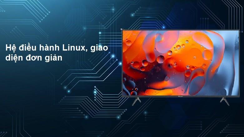 Internet Tivi Casper 32 inch 32HX6200 | Hệ điều hành Linux giao diện đơn giản