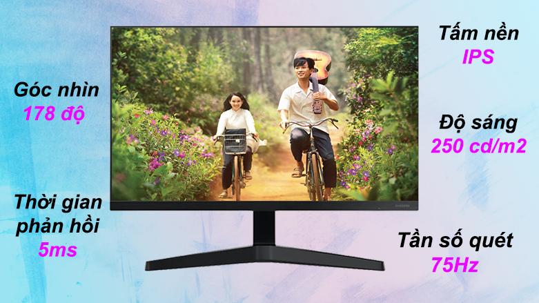 Màn hình LCD Samsung LF22T350 | Tấm nền IPS | Tần số quét 75Hz