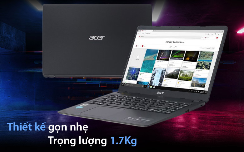 Laptop Acer Aspire 3 A315-56-34AY | Thiết kế gọn nhẹ