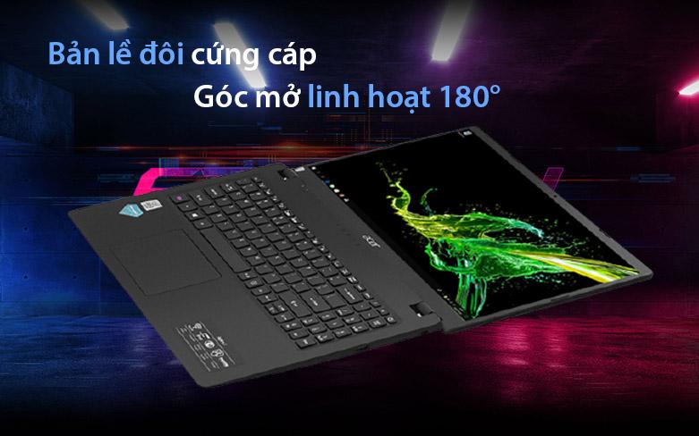 Laptop Acer Aspire 3 A315-56-34AY| Bản lề cứng cáp | Góc mở linh hoạt