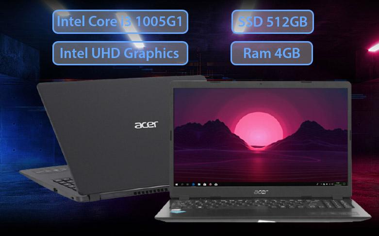 Laptop Acer Aspire 3 A315-56-34AY | HIệu năng mạnh mẽ