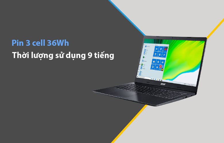 Laptop Acer Aspire 3 A315-57G-524Z | Pin 3 cell 36Wh