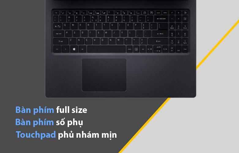 Laptop Acer Aspire 3 A315-57G-524Z   Bàn phím rộng rãi