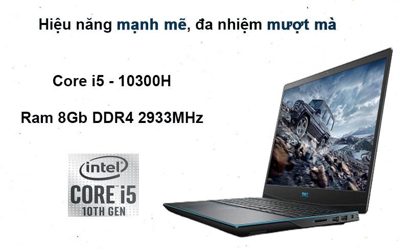 Laptop Dell G3 15 3500 (3500-70223130) (i5-10300H) | Hiệu năng mạnh mẽ