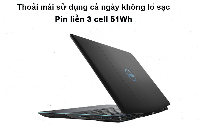 Laptop Dell G3 15 3500 (3500-70223130) (i5-10300H) | Pin liên 3 cell 51Wh