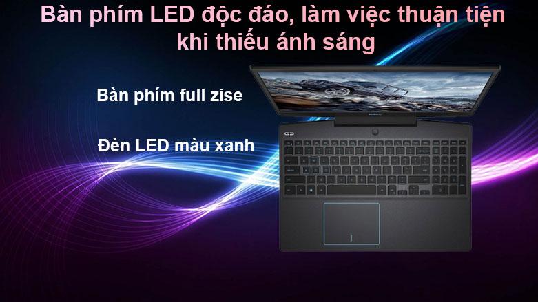 Laptop Dell G3 15 3500 | Bàn phím LED độc đáo