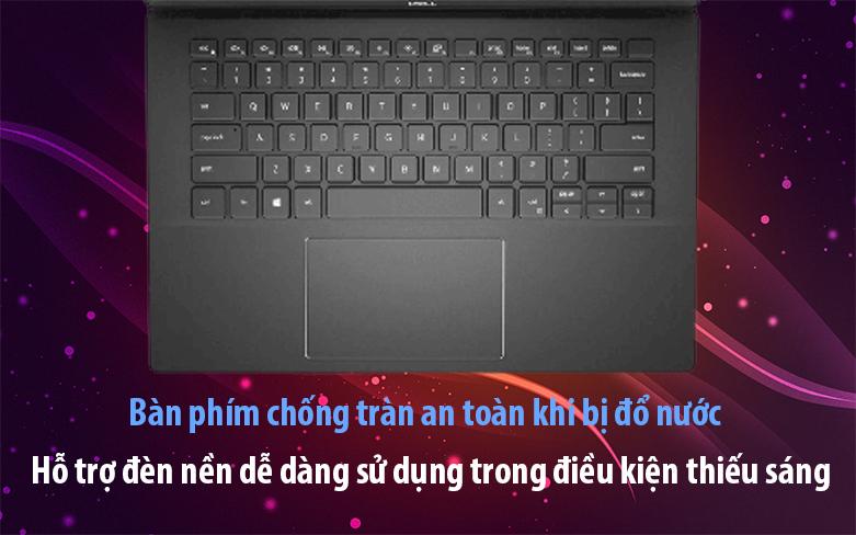 Laptop Dell Vostro 15 5502 | Bàn phím chống tràn khi đổ nước