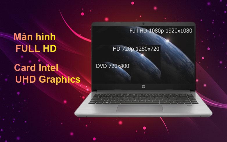 Laptop HP 340s G7 | Màn hình Full HD, Card Intel UHD Graphics