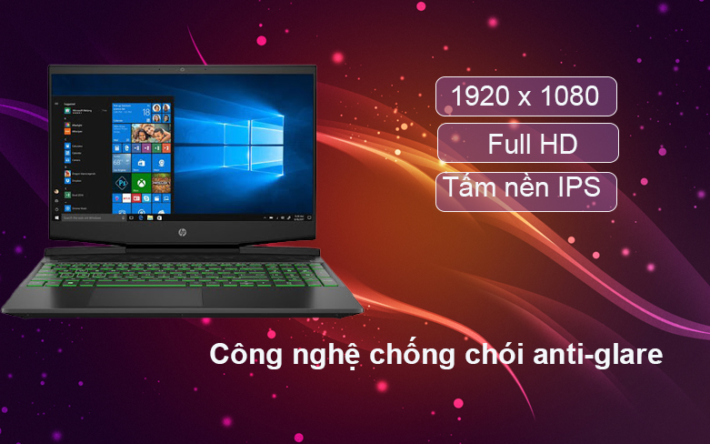 Laptop HP Pavilion Gaming 16-a0109TX 31J26PA | màn hình 16 inch