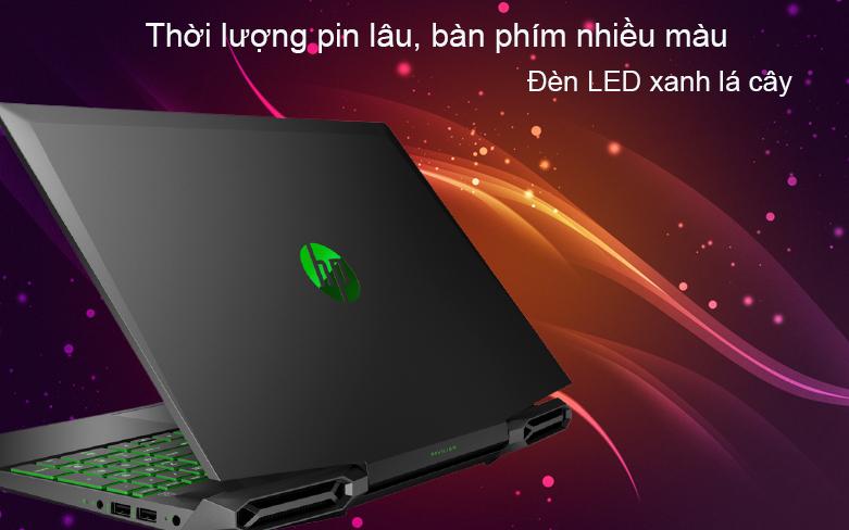 Laptop HP Pavilion Gaming 16-a0109TX 31J26PA | Thời lượng pin lâu
