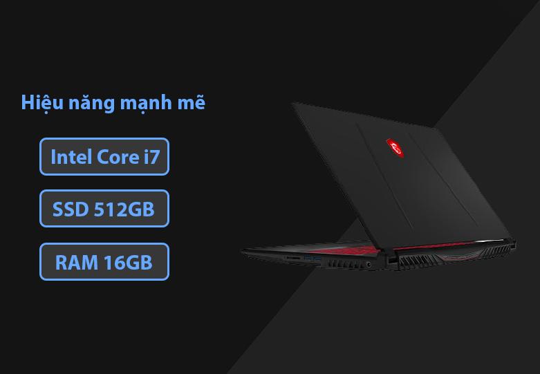 Laptop MSI Leopard GL75 10SDR-495VN | Hiệu năng mạnh mẽ
