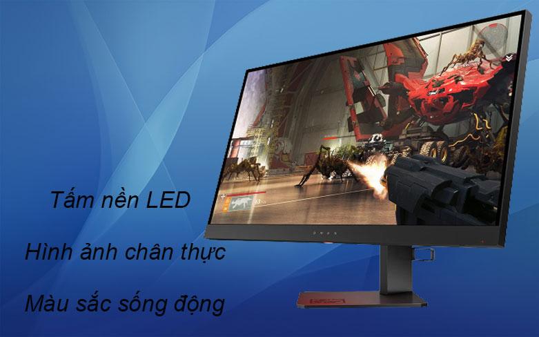 Màn hình LCD HP OMEN 27 inch 6FN08AA   Tấm nền LED, Màu sắc sống động