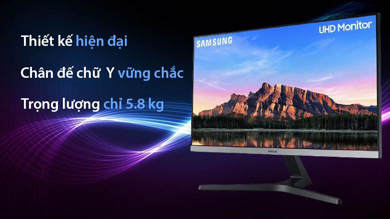 """Màn hình LCD Samsung 28"""" LU28R550UQEXXV   Thiết kế hiện đại"""