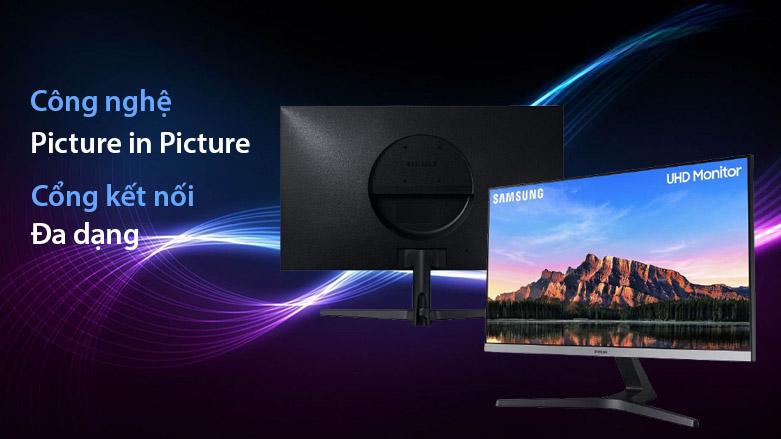 """Màn hình LCD Samsung 28"""" LU28R550UQEXXV   Công nghệ màn hình nổi bật"""