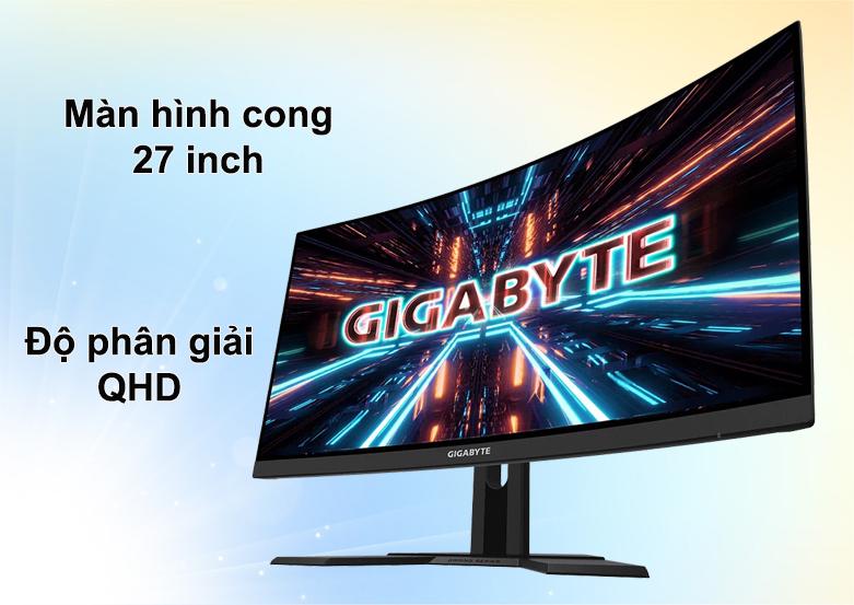 Màn hình cong Gigabyte 27 inch G27QC-EK | Màn hình cong 27 inch | Độ phân giải QHD