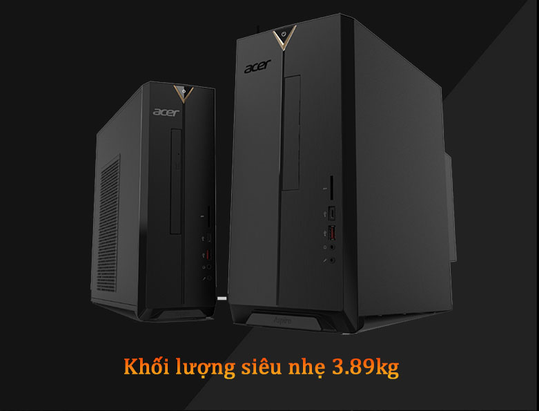 PC Acer AS XC-895 | Khối lượng nhẹ