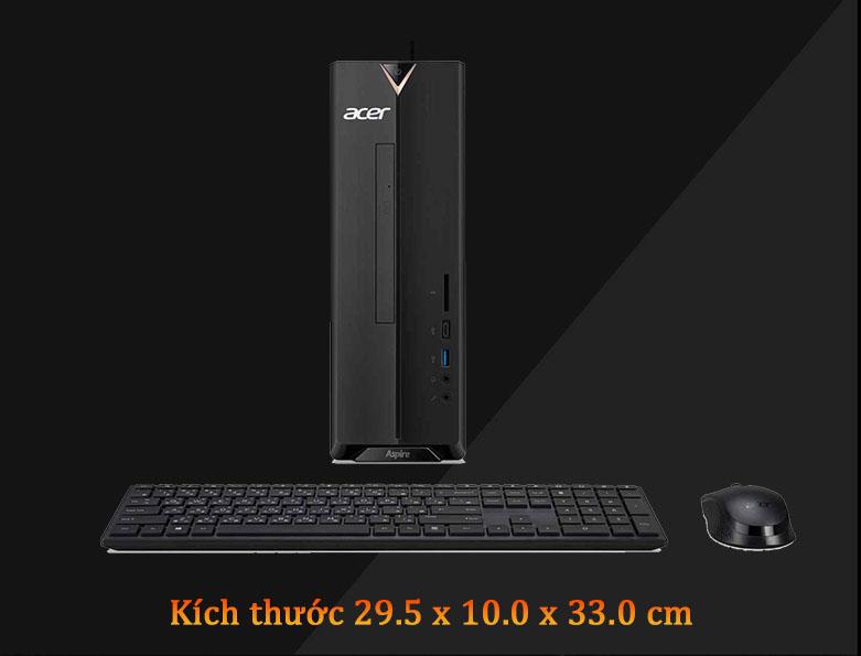 PC Acer AS XC-895 | Kích thước nhỏ gọn