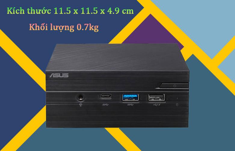 PC Asus PN40-BBC061MV | Kích thước nhỏ gọn