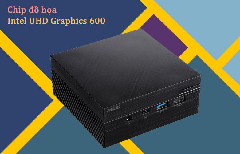 PC Asus PN40-BBC061MV | Chip đồ họa Intel UHD Graphic 600