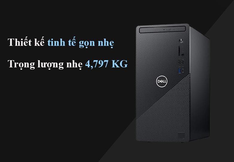 Máy tính để bàn PC Dell Inspiron 3881 MT 0K2RY1 | Thiết kế nhỏ gọn | Trọng lượng 4.797Kg