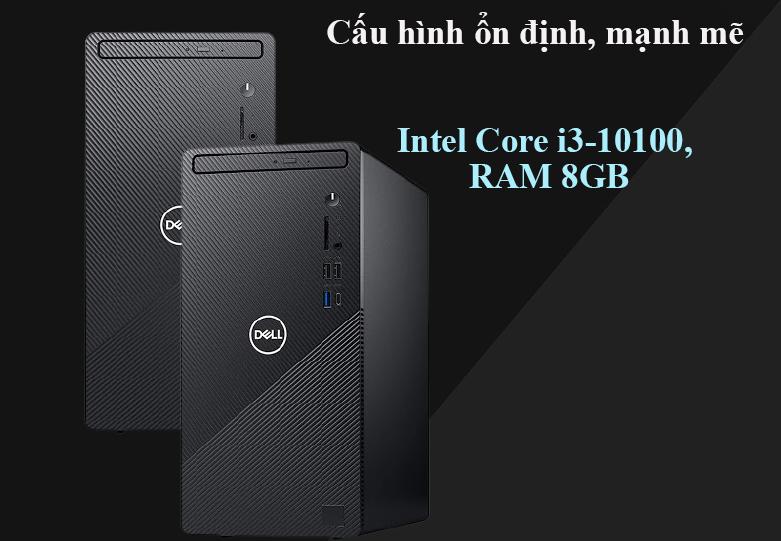 Máy tính để bàn PC Dell Inspiron 3881 MT 0K2RY1 | Cấu hình mạnh mẽ