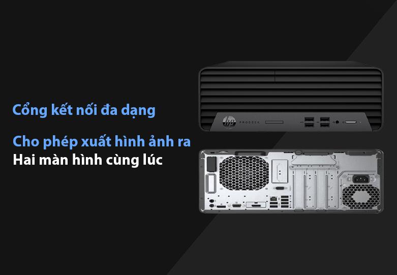 PC HP ProDesk 400 G7 SFF 22B70PA   Công kết nối đa dạng