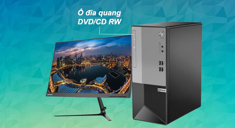 Máy tính để bàn Lenovo V50t-13IMB 11HD0011VA   Ổ đĩa DVD/CD RW