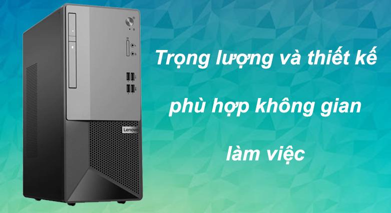 Máy tính để bàn Lenovo V50t-13IMB 11HD0011VA   Trọng lượng và thiết kế phù hợp vơi skhông gian làm việc