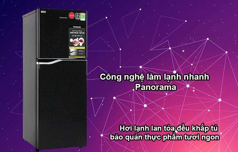 Tủ lạnh Panasonic Inverter 188 lít NR-BA229PKVN   Công nghệ làm lạnh nhanh Panorama