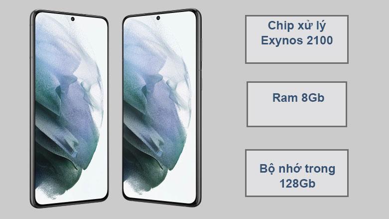 Samsung Galaxy S21+ 5G (8+128GB) SM-G996BZKDXXV | Hiệu năng vượt trội